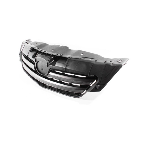 Toyota Corolla ZRE152 07-10 4Door Sedan Front Black/Grey Center Grille / Grill