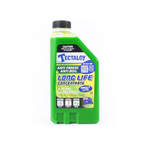 Tectaloy Anti Freeze / Boil - Anti Corrosion Concentrate Car Radiator Coolant 1L