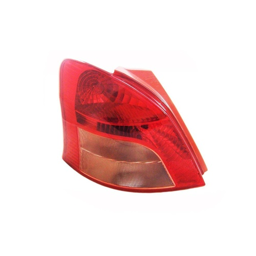 Toyota Yaris 05-08 NCP90 Ser1 Hatchback Red & Clear LHS Left Tail Light TYC