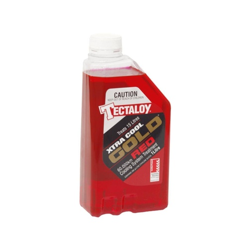 Tectaloy XTRA Cool Gold RED - Anti Corrosion Concentrate Car Radiator Coolant 1L