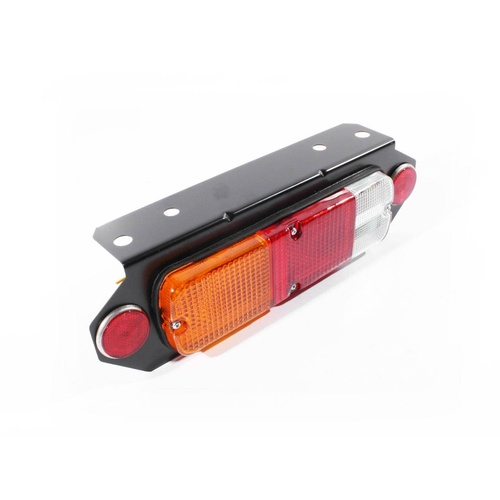 Universal Replacement Tray Back Ute Red Amber & Clear LH Or RH Tail Light Lamp