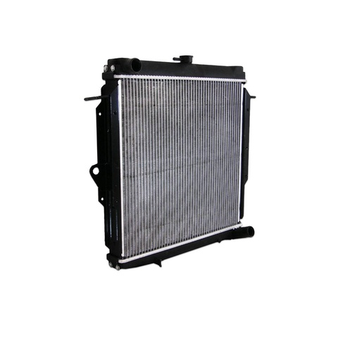Toyota 70 75 Series Landcruiser Diesel 1HZ Alloy Radiator 90-99  Metal Shroud
