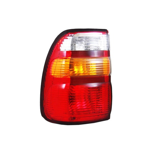 Toyota 100 Series Landcruiser Tail Light 98-02 Red Amber & Clear LHS Left Lamp