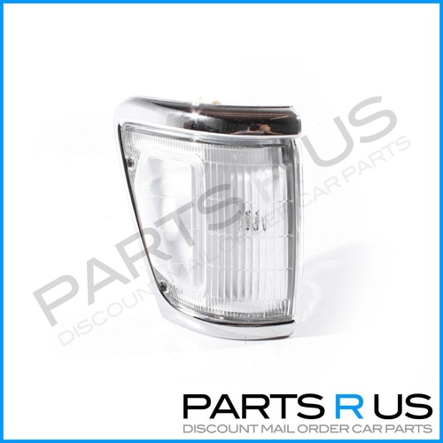 Toyota Hilux 91-97 4WD Ute Chrome Edge & Clear Lens RHS Right Corner Light ADR