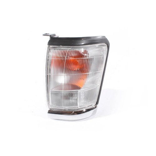 Toyota Hilux 97-01 Indicator SR5 Ute Grey/Chrome Edge LHS Left Corner Light