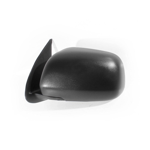Toyota Hilux 05-13 Ute 2WD & 4WD Black Manual LHS Left Door Wing Mirror