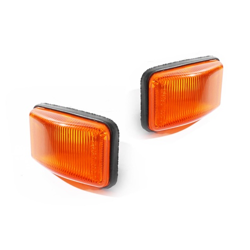 Toyota Camry SXV20 97-02 Amber LH+RH Set Guard Flasher Indicator Light Lamps