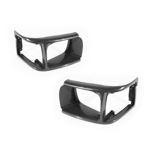 Toyota Hiace 92-98 Van Standard Grey Plastic LH+RH Set Headlight Surrounds A/M