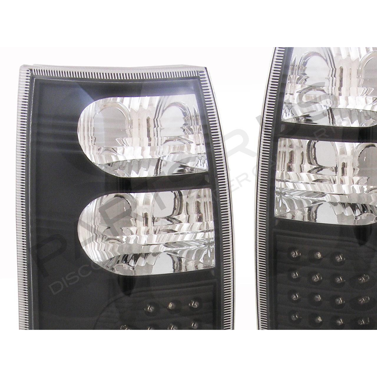 Tail Lights Holden VT VX VU VY VZ Wagon Ute LED Black Altezza Clear 97 98 99 00-  sc 1 st  CarsRus & Tail Lights Holden VT VX VU VY VZ Wagon Ute LED Black Altezza Clear ...