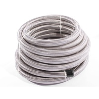 Aeroflow AN-16 Fuel/Oil/Water 100 Series Stainless Steel Braided Hose x15 Meters