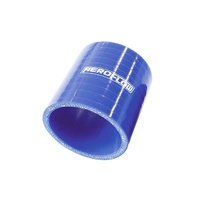 "AeroFlow AF9001-350 Straight (3""/75mm Long) Silicone Hose - 3.50"" (88mm) Blue"