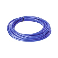 "AeroFlow AF9031-025-25 Vacuum Silicone Hose (25ft/7.6m Roll) - 1/4"" (6mm) Blue"