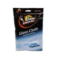 Armor All Glass Cleaning Cloth - Streak Free Clean, Washable & Reusable