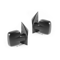 Door Wing Mirrors A/M 98-04 Mercedes Benz Vito Van Black Manual LH+RH Set