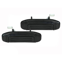Door Handles Mitsubishi Pajero NH, NJ, NK And NL 91-00 Pair Front Outer Black