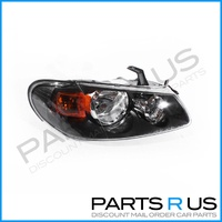 Nissan Pulsar N16 Ser 2 03-06 5Door Hatchback Black RHS Right Headlight Lamp ADR