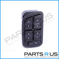 Window Switch to suit Ford Falcon BA BF 4Dr & Wagon 02-08 No Illumination 4 Switch Master Power