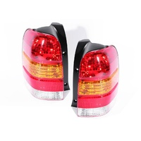 Ford Escape 4x4 Wagon Ser1 01-06 TYC LH+RH Pair Tail Light Lamps