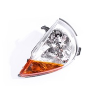 LHS Headlight for Ford Ka 99- 02 TA TB 3 Door Hatchback Clear & Amber