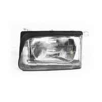 Holden Rodeo TF Ute 99-01 Flush Lined Plastic LHS Left Headlight Lamp Depo