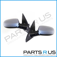 Holden XC Barina 01-05 Left +Right Set Manual Door Wing Mirrors 02 03 04