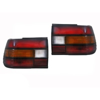 Pair Of Smoked Tail Lights Holden VP Commodore Sedan 91 92 93 HSV SS LHS & RHS