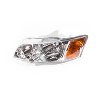 Holden Commodore VY Ser2 03-05 Chrome & Amber Front LHS Left Headlight Lamp