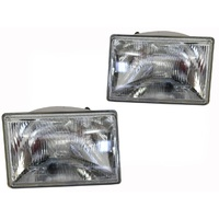 New Pair Headlights Lamps ADR New LH RH Jeep Grand Cherokee ZG 96 97 98 99