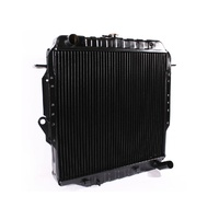 HEAVY DUTY Radiator for Toyota 75 Series Landcruiser 1HZ Diesel 4 Row HZJ75 90-99