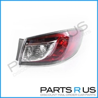 RHS Tail Light to suit Mazda 3 BL 09-13 Series 1&2 4Door Sedan Red & Clear TYC