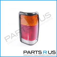 Tail Light Ford Courier & Mazda Bravo 85-98 Black Surround RHS Right Lamp ADR