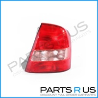 Mazda 323 Protege BJ12 02-03 4Door Sedan Red & Clear RHS Right Tail Light Lamp