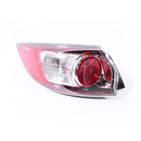 Mazda 3 BL 09-11 5Door Hatch Genuine Red & Clear LHS Left Tail Light Lamp