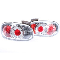 MX5 Mazda MX-5 NB Miata Altezza Clear Tail Lights 98-05 Chrome ADR Quality