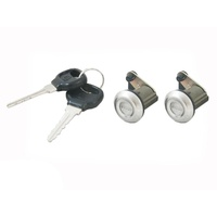 2 Door Lock Barrels + Keys for Ford Laser 81-89 Econovan 84-99 Meteor 82-87
