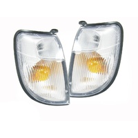 Indicator Corner Lights Set Left & Right Nissan Navara D22 Ute 97-00