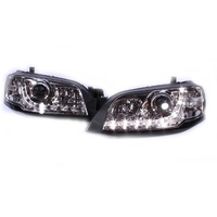 Headlights Ford Territory LED CHROME DRL Projector Altezza ADR 04 05 06 07 08