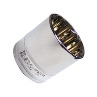"SP Tools 1/2"" Dr 21mm x 12 Point Metric Socket"