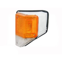 LHS Chrome Surround Corner/Indicator Light To Suit Toyota Landcruiser 70/75 Series 85-99
