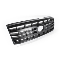 Grille 05-07 Toyota Landcruiser 100 Series Black Plastic Front Center Grill