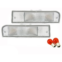 Front Bar Indicator Lights Toyota 4 Runner & Surf 91-97 LN130 92 93 94 95 Hilux