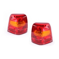 Toyota Landcruiser 200 Series 12-13 Ser2 Wagon LH+RH Tail Light Lamps Genuine