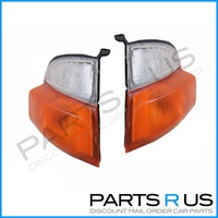 Toyota Hiace SBV Van New Corner Indicator Lights Pair 95 96 97 98 99 00 01 02 03