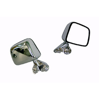 Toyota Hilux 88-04 2WD/4WD Ute Chrome Skin Mount RHS Right Door Wing Mirror A/M