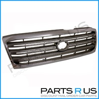 Chrome Grille 02-05 Suits Toyota 100 Series Landcruiser GXL