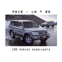 Headlights / Corner Lamps Set Toyota 100 Series Landcruiser 05-07 LH+RH Pair