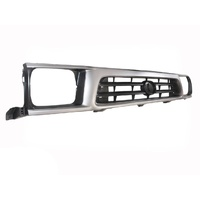 Front Silver Grille For Toyota Hilux  97-01 2WD