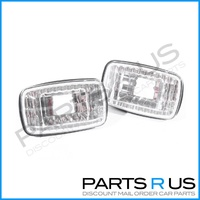 Toyota Camry DV10 92-97 2x Crystal Clear Guard Flasher Indicator Repeater Lights