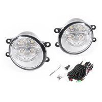 LED Front Bar Fog Spot Light Lamp Kit 07-11 Toyota Tarago 06-14 ACR50
