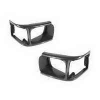 Headlight Surrounds Toyota Hiace 92-98 Van Standard Grey Plastic LH+RH Set A/M
